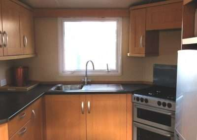 Mobile Home | Swift Moselle 37x12 - Kitchen View