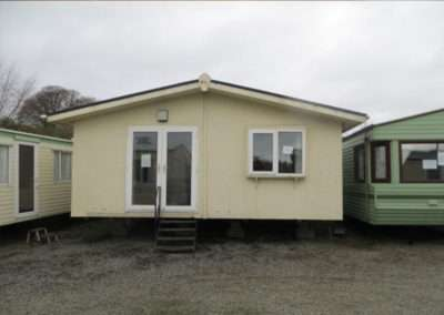 Double unit chalet with double glazing and central heating 3 bedroom