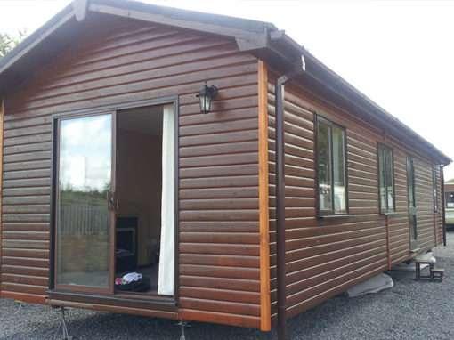 Log Cabin 42×12