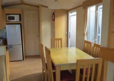 Mobile Home | Swift Moselle 37x12 - Living room & Kirchenette
