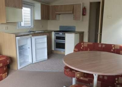 Mobile Home | Willerby Vacation 33x12 - Living room & Kitchen